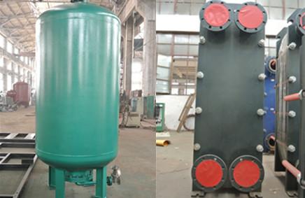 水暖設備廠家,換熱設備廠家,供水設備廠家,換熱機組,供水設備,分集水器,換熱器,除污器,真空脫氣機